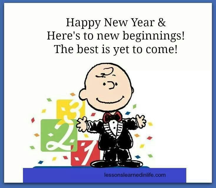 Charlie Brown New Year Wallpaper