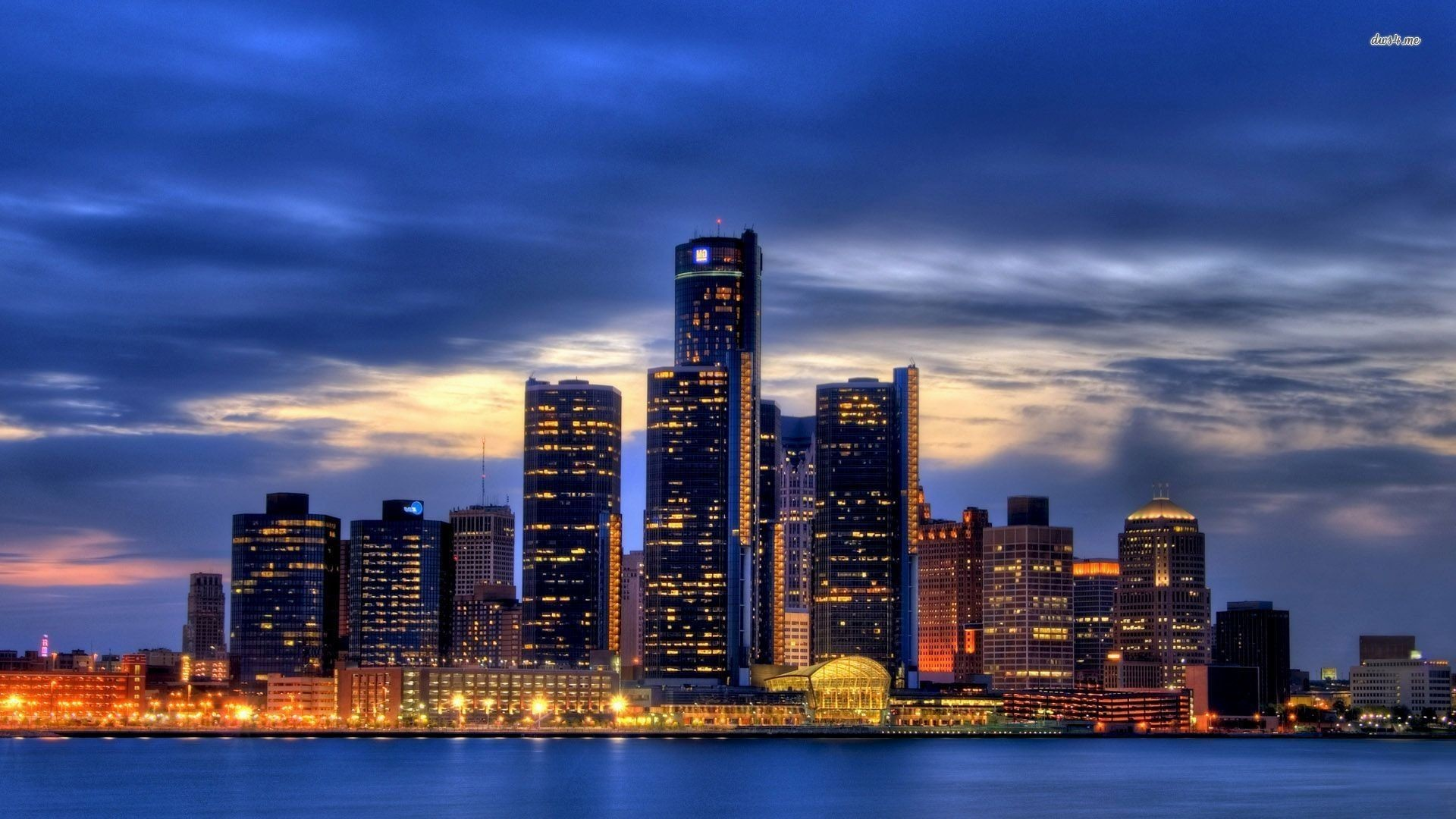 65 Detroit Skyline Wallpapers on WallpaperPlay 1920x1080