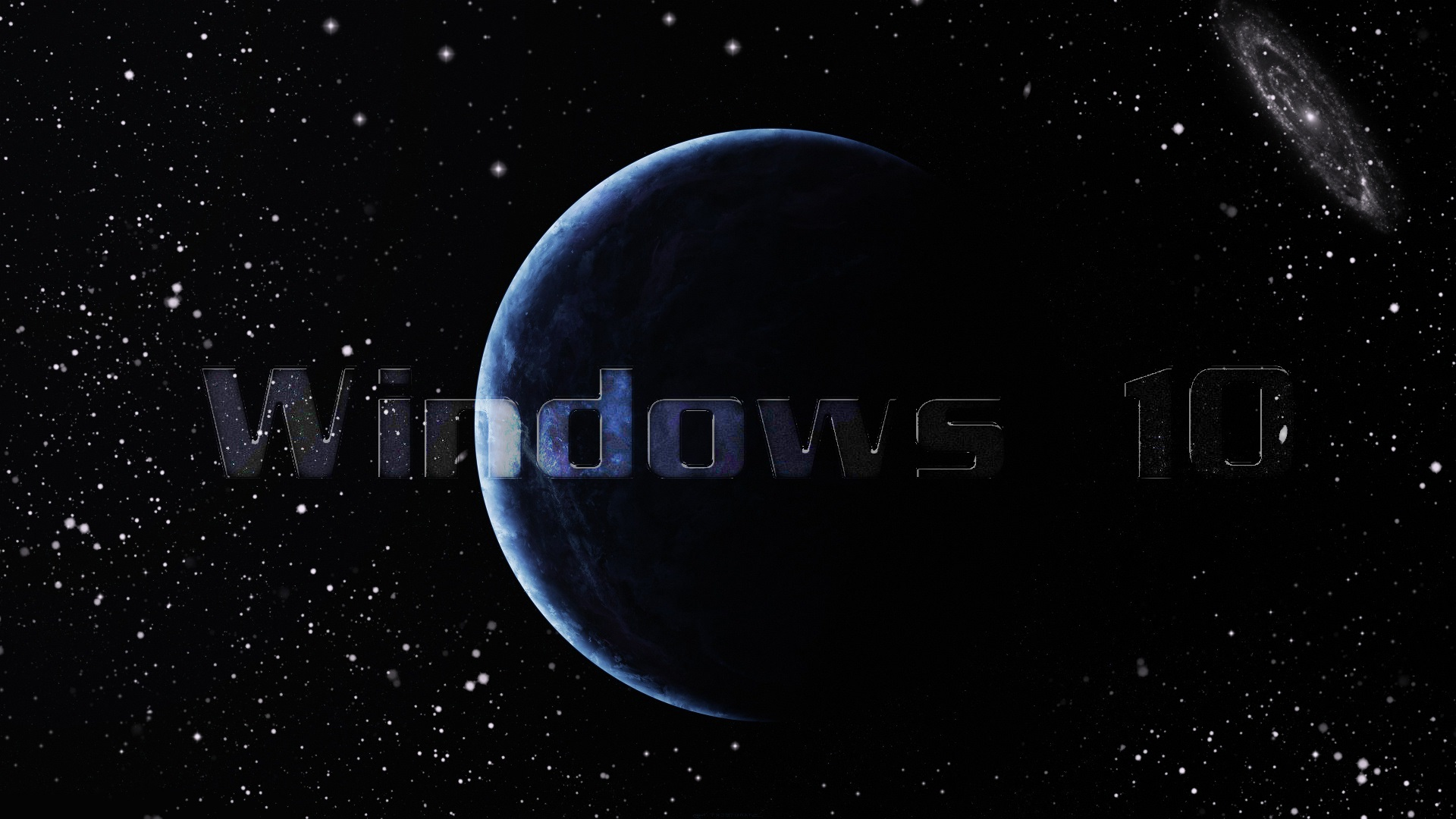 Windows 10 On Galaxy Wallpaper HD 9511 Wallpaper High Resolution 1920x1080
