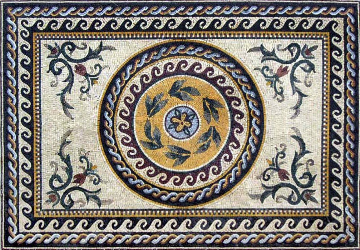 Inquire about this product. ← Roman Mosaic Pattern Wallpaper