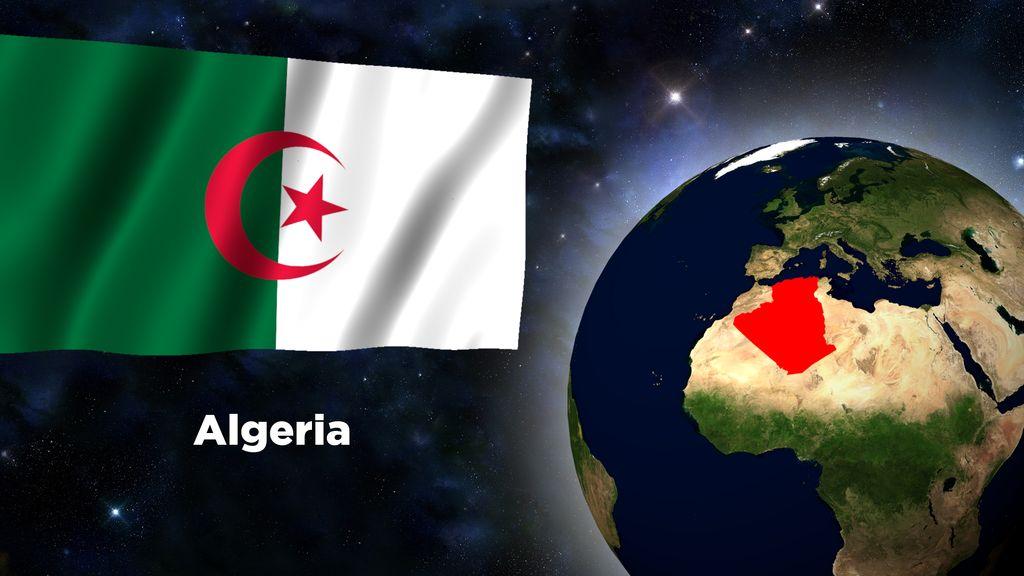 Flag Wallpaper   Algeria by darellnonis 1024x576