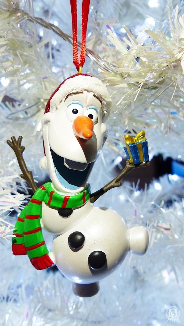 Olaf Christmas iPhone5 Wallpaper The Purple Pumpkin Blog 640x1136