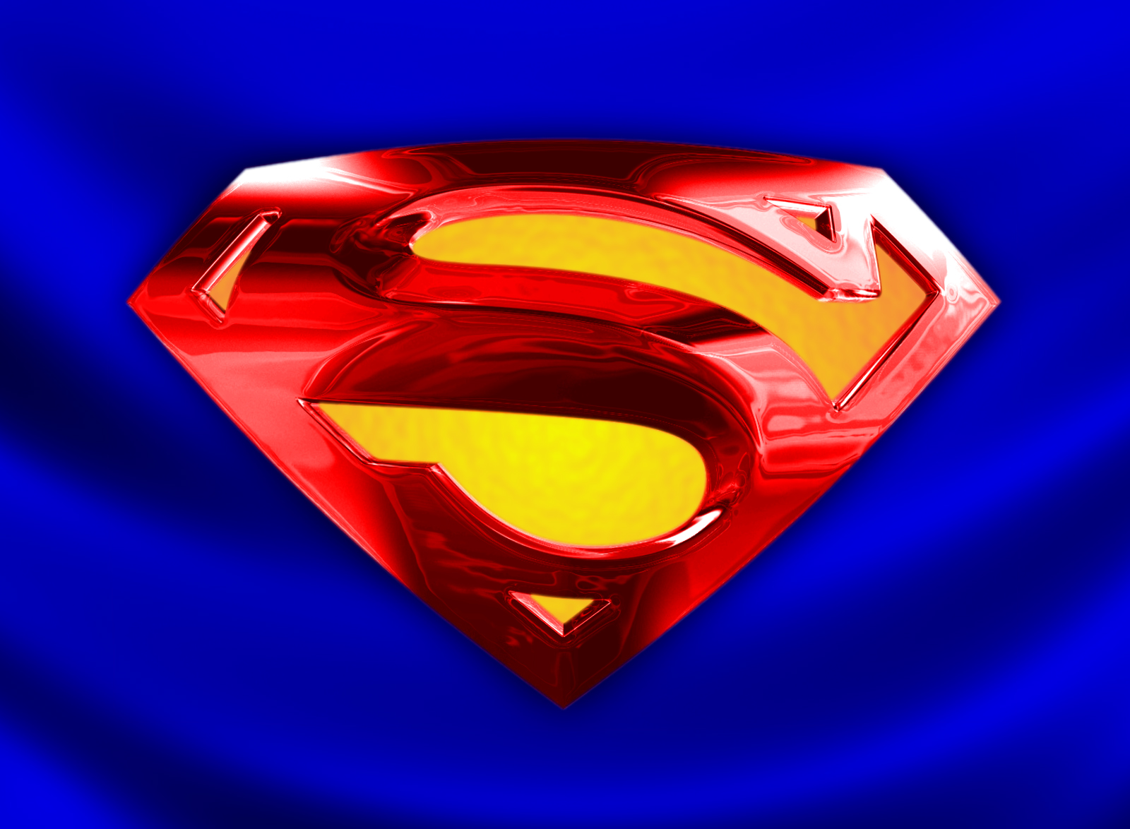 Related Pictures superman logo 3d wallpaper 1600x1174