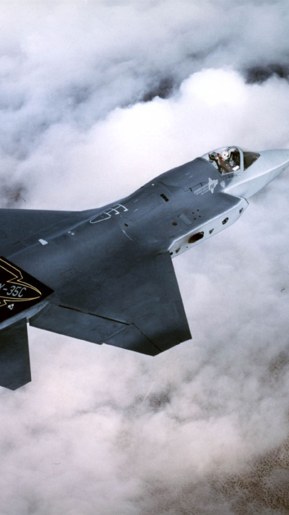 Lockheed Martin F 35B Wallpaper   iPhone Wallpapers 576x1024