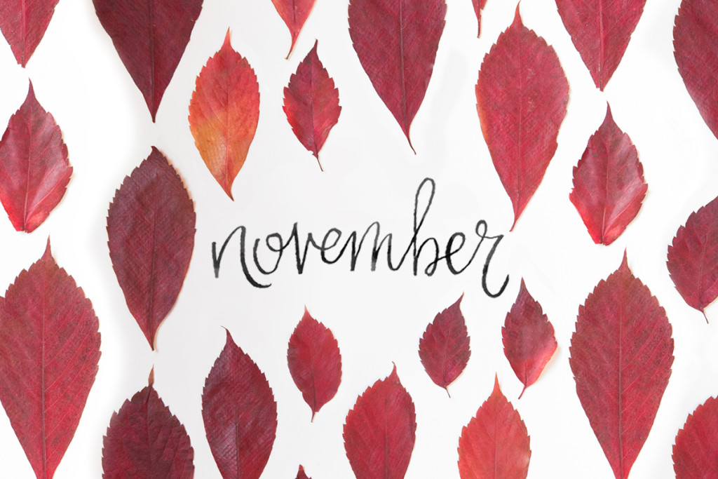 November 2015 Free Calendars and Wallpaper | Red Stamp