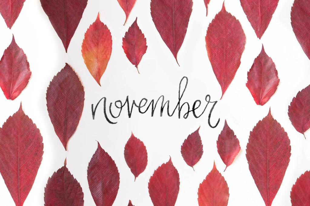 Cute November Calendar Wallpaper : November wallpaper wallpapersafari