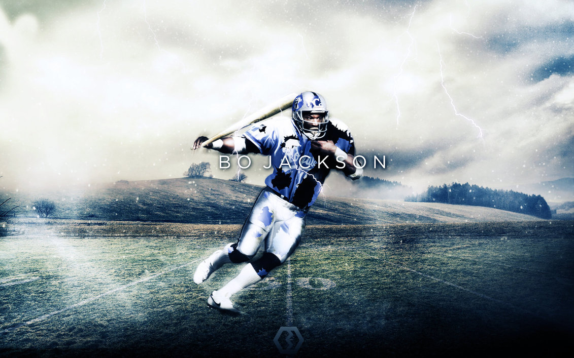 Bo Jackson Times Change Wallpaper by BengalDesigns by bengalbro 1131x707