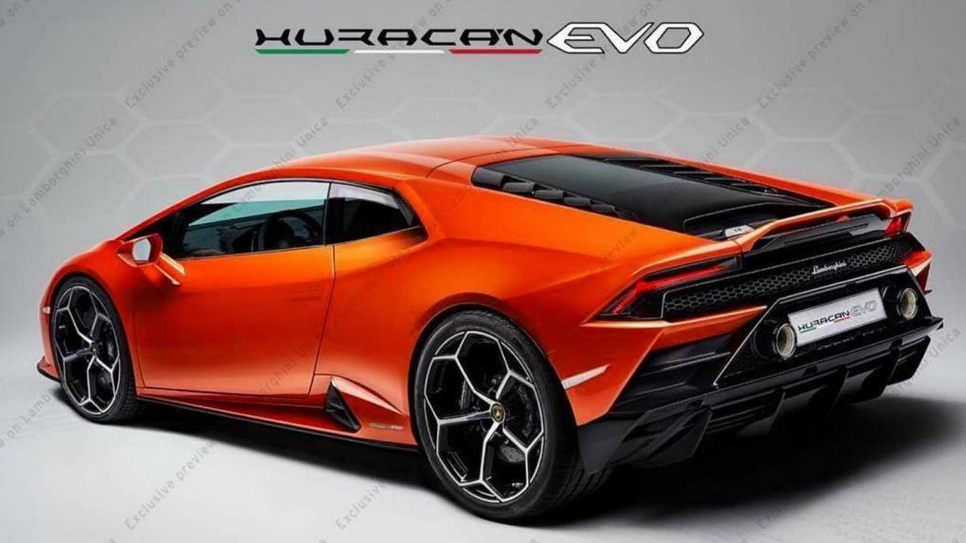 2020 Lamborghini Huracan Evo First Official Image Released 1920x1080