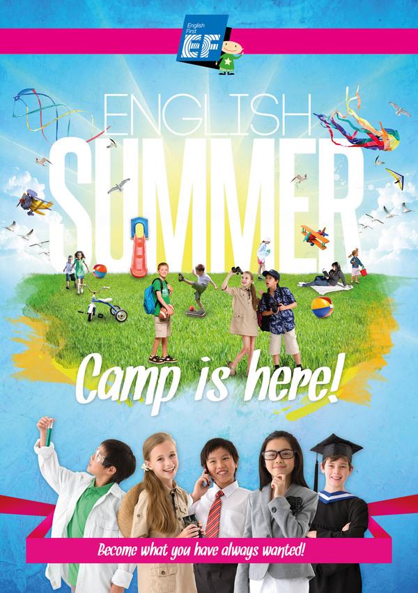 EF English Summer Camp by RyukXD 600x851