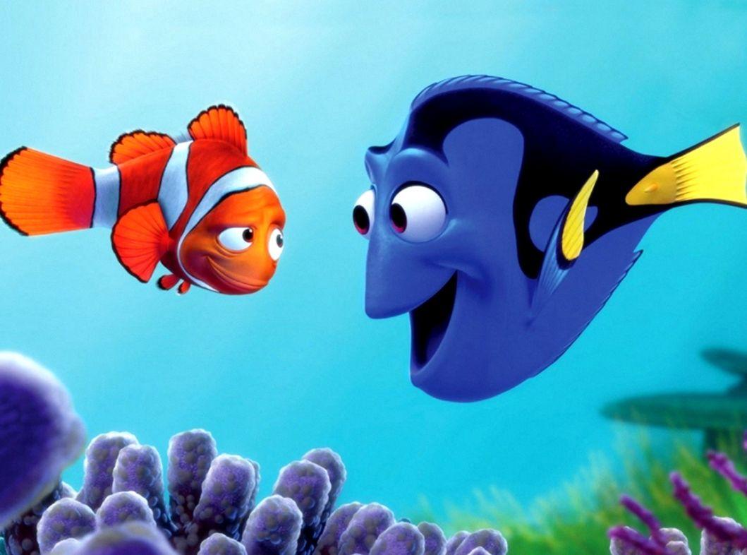 Finding Nemo Dory Marlin Wallpaper my sims 3 downloads 1059x786