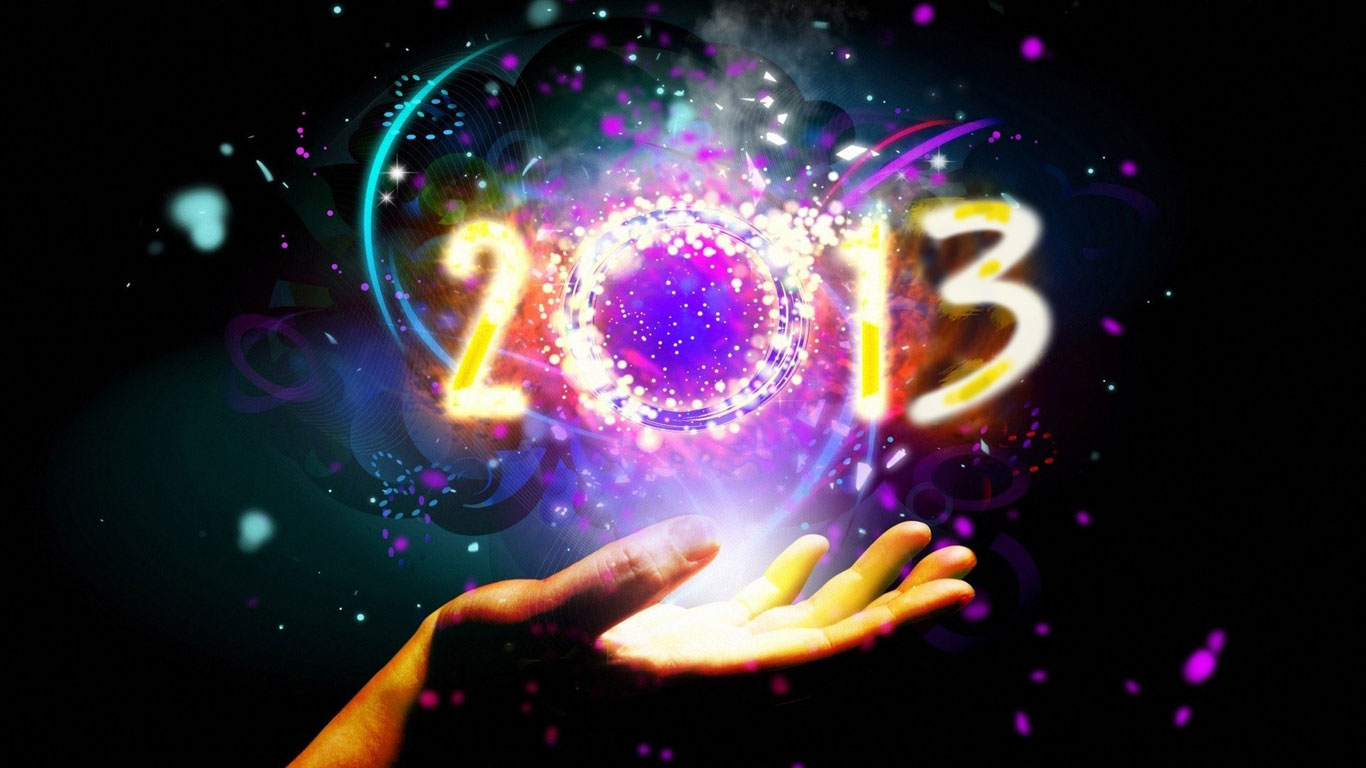 new year wallpapers 2013 beautiful happy new year wallpapers 2013 1366x768