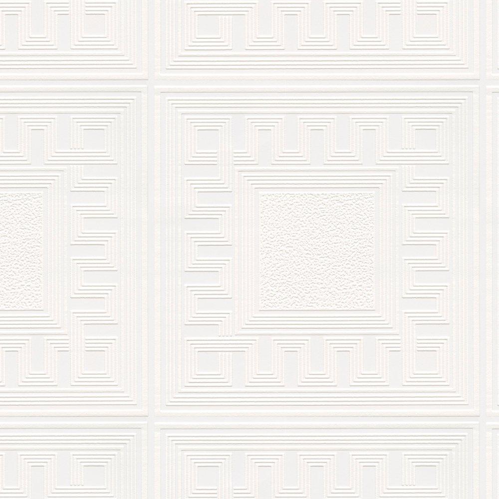 Richmond Geometric Aztec Pattern Paintable Vinyl Wallpaper 5835 1000x1000