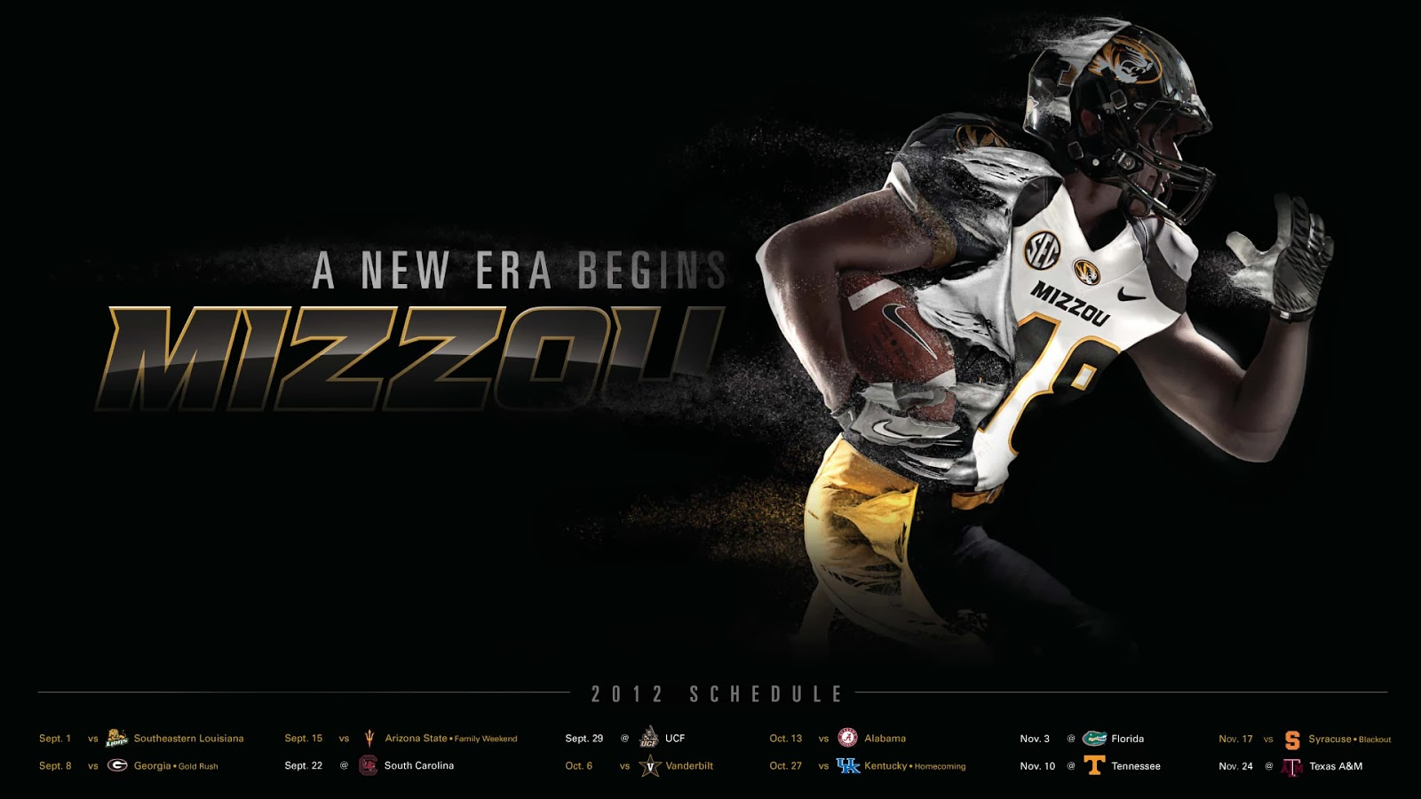 mizzou football wallpapers mizzou football wallpapers mizzou football 1600x900