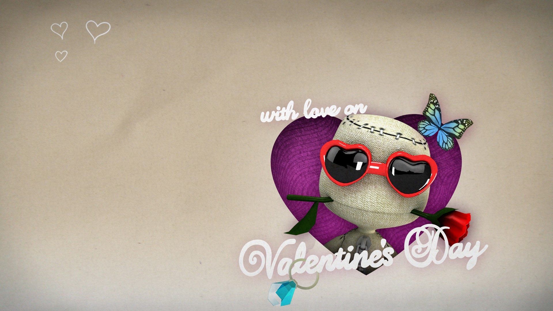 Funny Valentines Day Wallpaper
