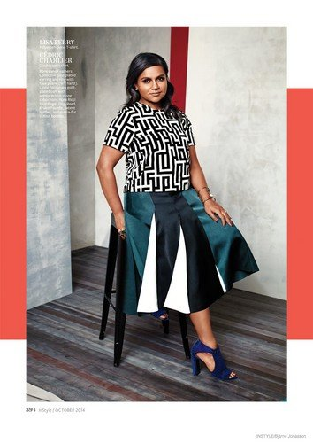 Mindy Kaling images Mindy Kaling in InStyle   September 354x500