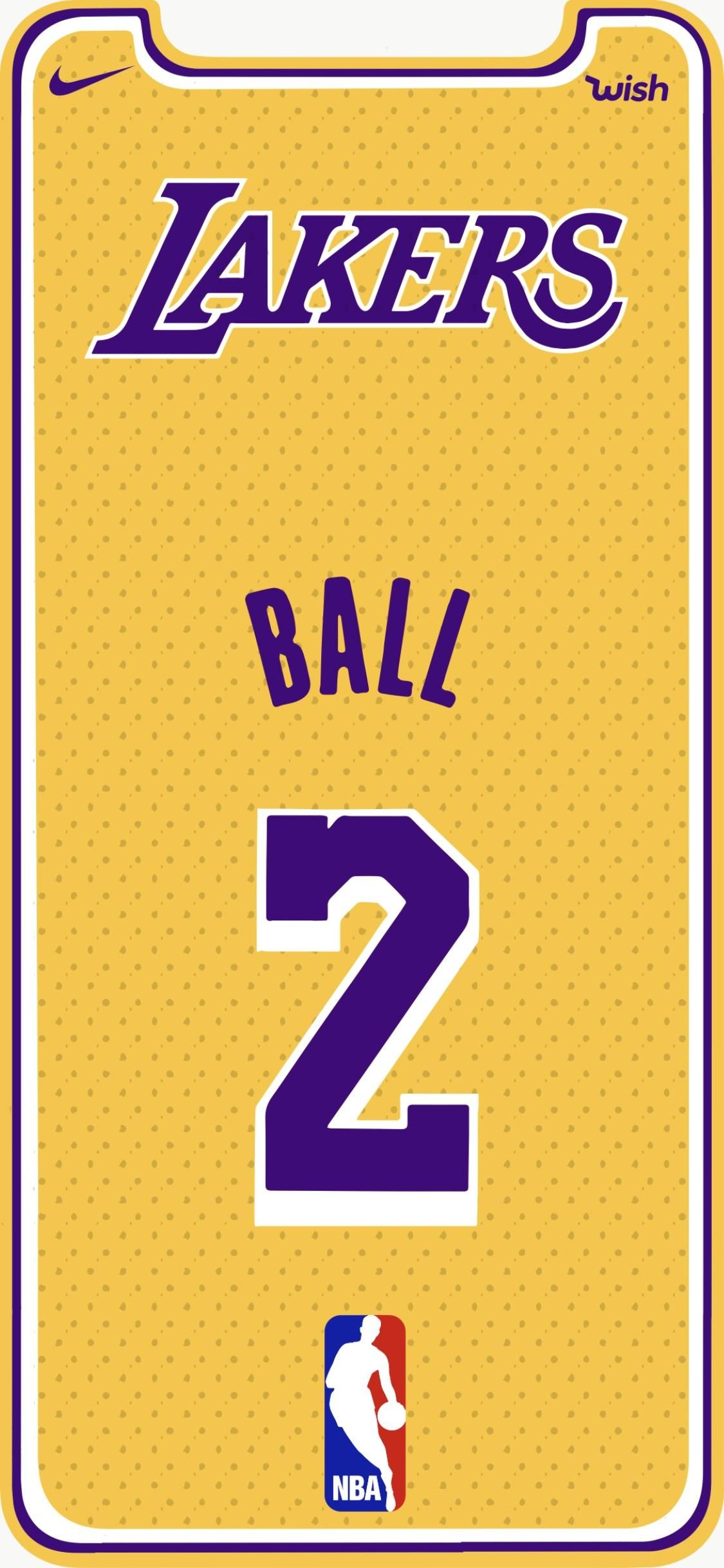 Lakers iPhone X Wallpapers iphonexwallpaperfullhd 1125x2436