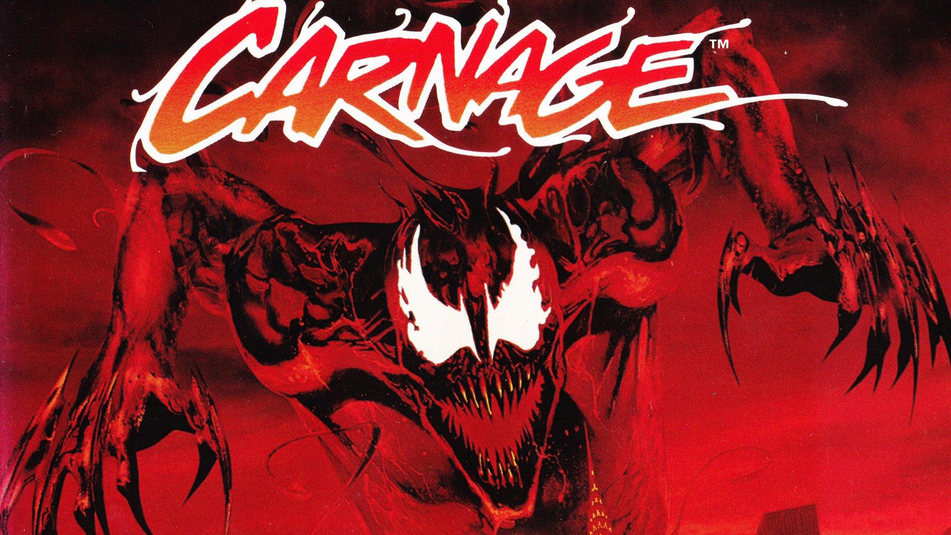 Spider Man Venom Maximum Carnage scrolling fighting action superhero 1920x1080