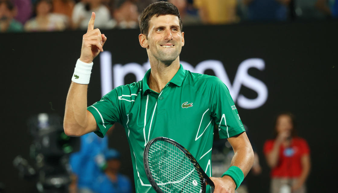 Australian Open 2020 Novak Djokovic beats Roger Federer to reach 1120x640