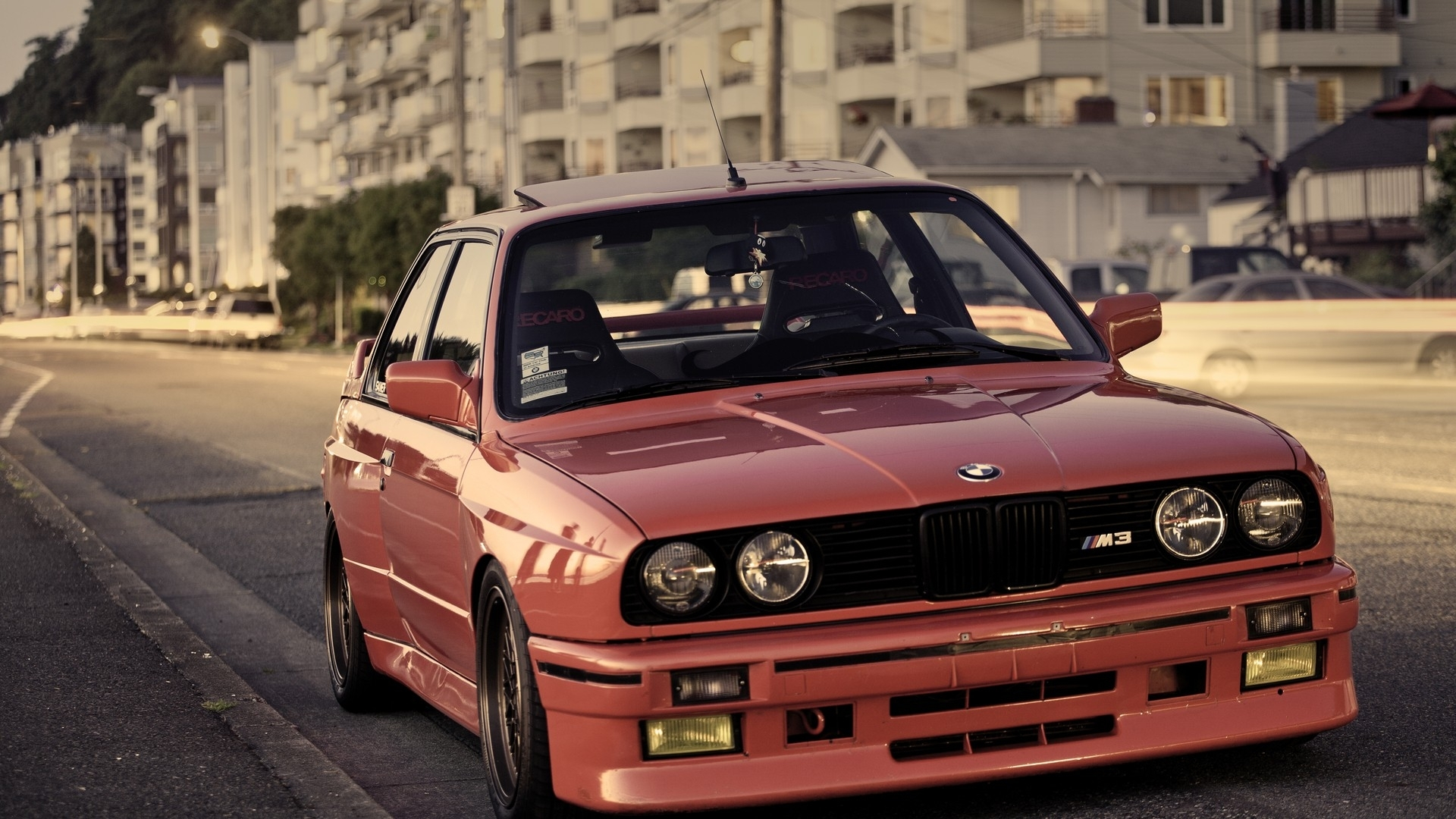 racing bmw m3 sport cars bmw e30 luxury sport cars Wallpaper download 1920x1080