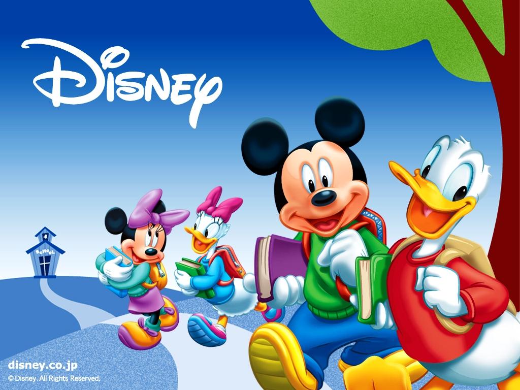 Type Of Wallpaper Theme Disney World Desktop Wallpaper Go to School 1024x768