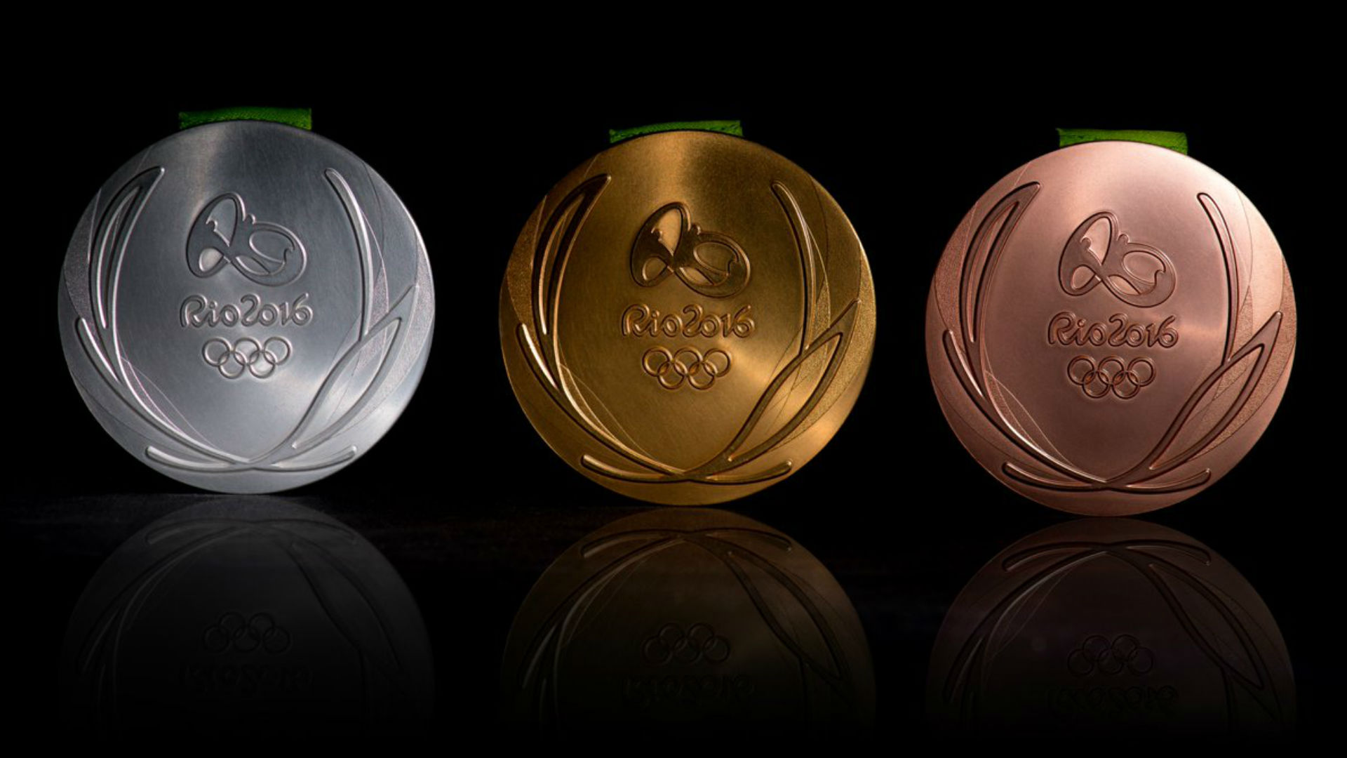 Rio 2016 Olympics medal design unveiled Athletics 1920x1080