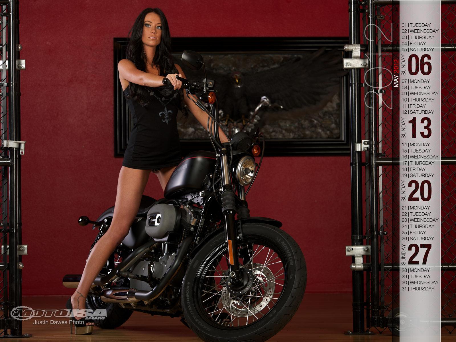Harley Davidson Pin Up Calendar httpwwwmotorcycle usacom19171 1600x1200