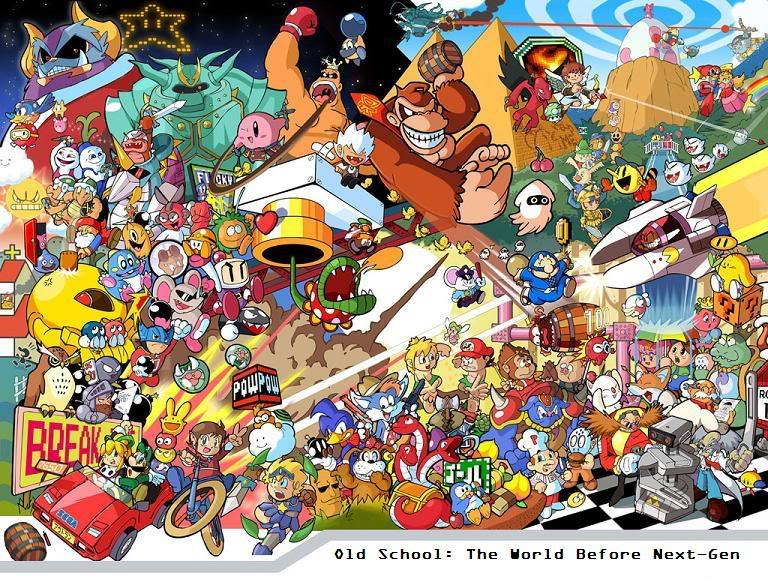 Old School Games Fans group   Mod DB 768x585