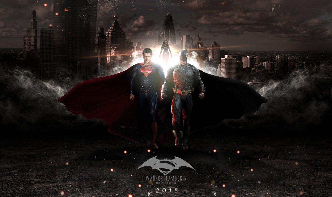 Batman VS Superman Wallpaper by WagnerTamborin 1161x688