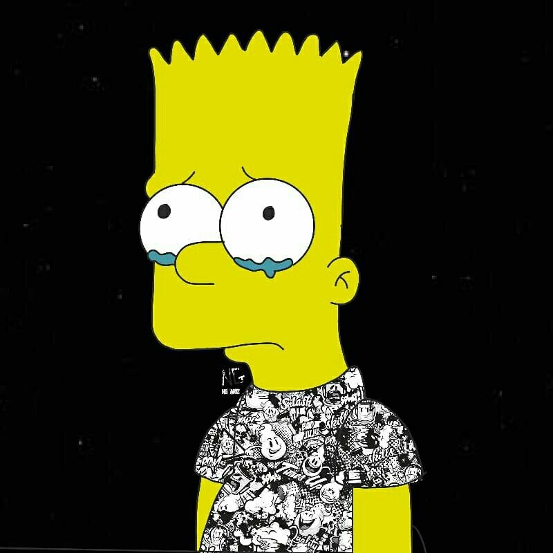 [12+] Depressed Bart Simpson Wallpapers On WallpaperSafari