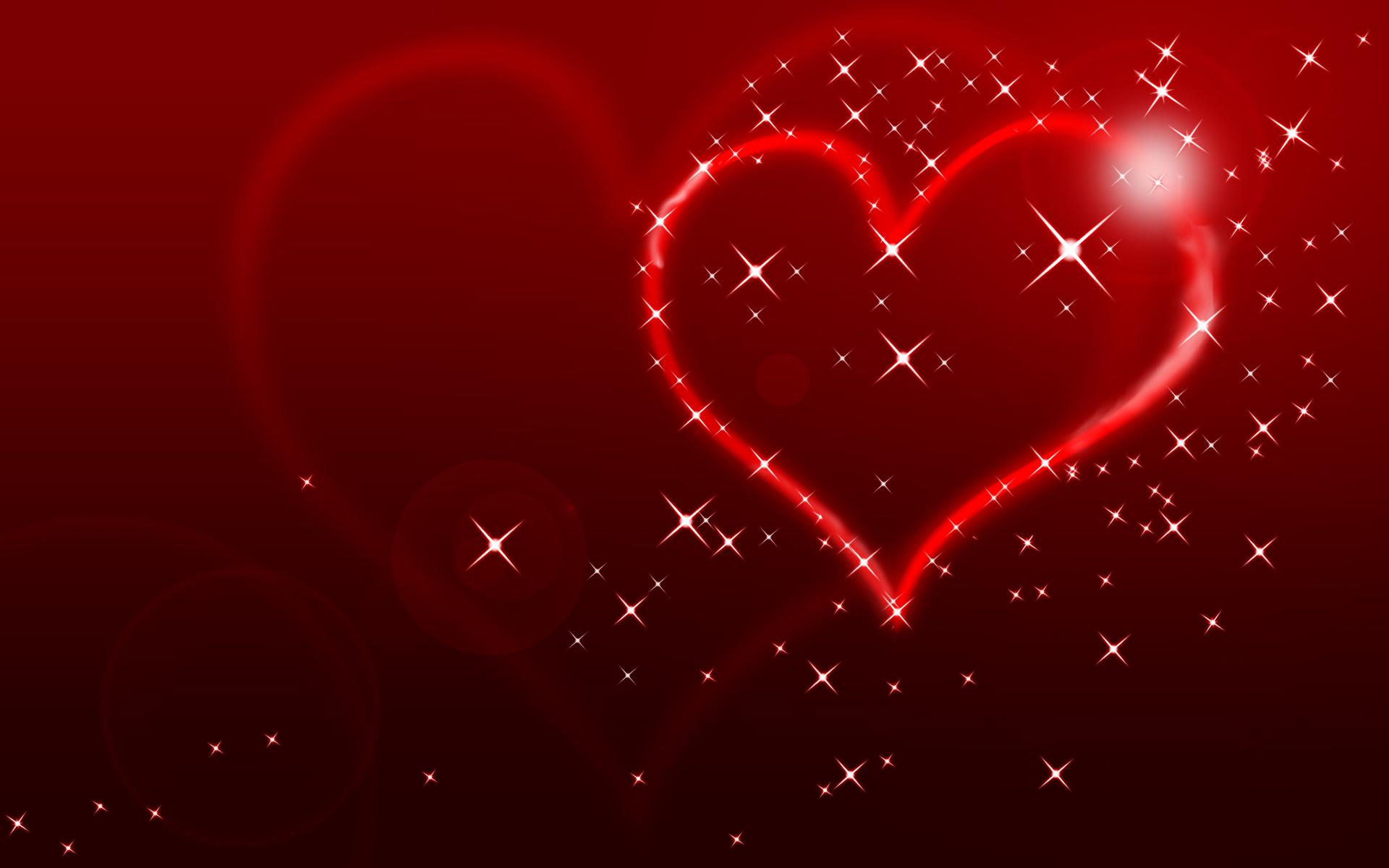 Heart Valentine 2016 background 1920x1200