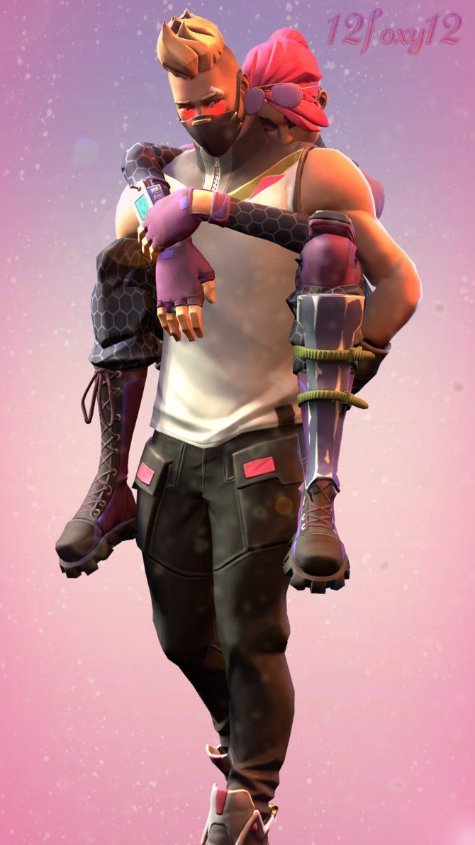 Cute couple Fortnite Battle Royale in 2019 Epic games 670x1192