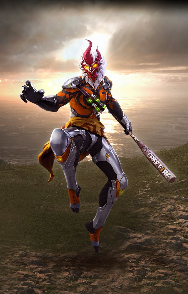Garena Fire   Wukong Gaming wallpapers avatars Game 640x1000