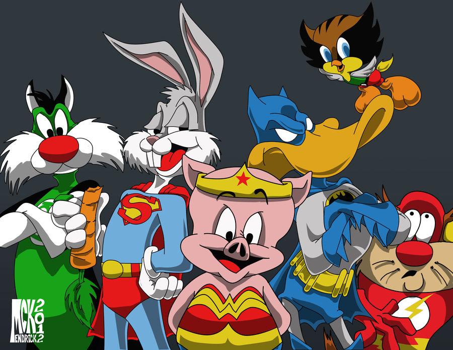 Looney tunes halloween wallpaper wallpapersafari - Looney tunes background ...