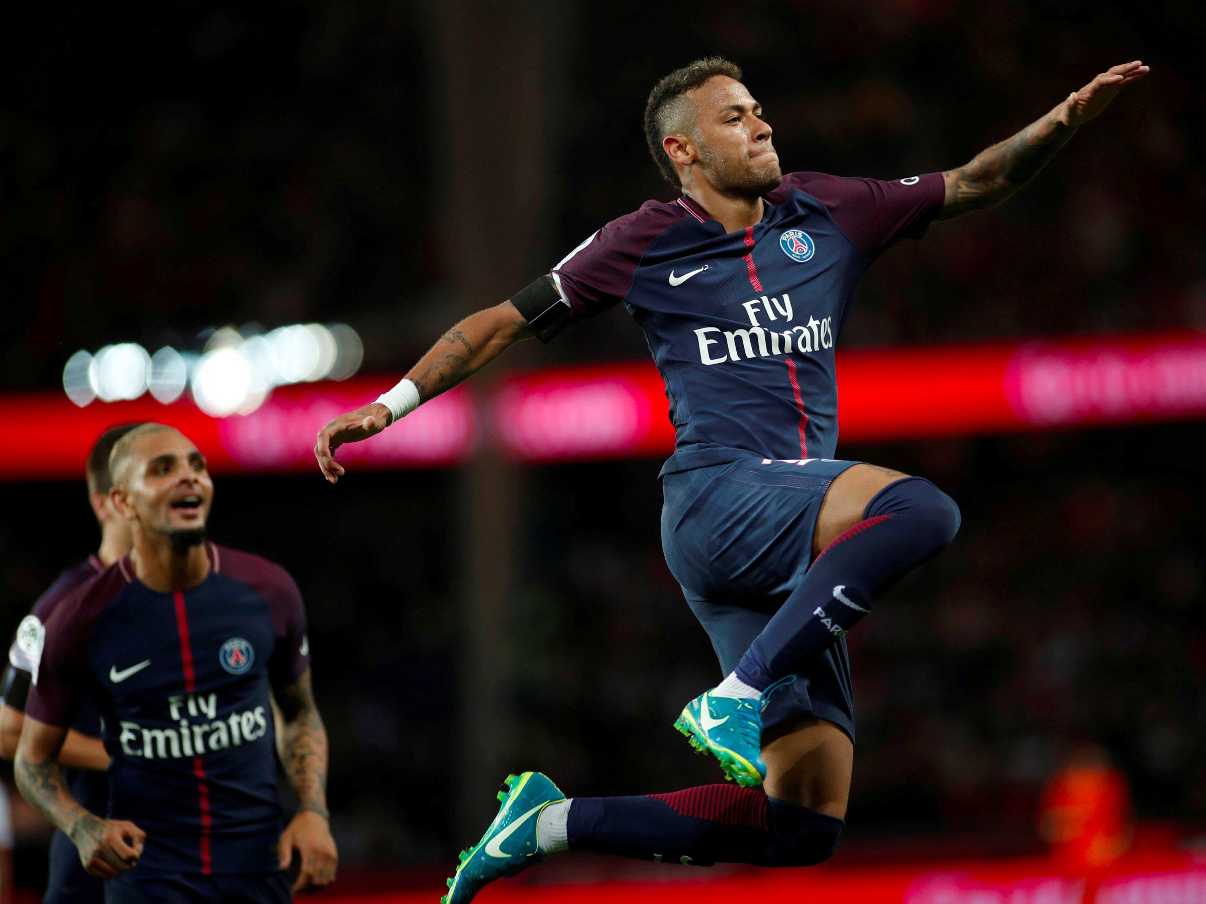 Neymar had an outrageous PSG home debut   Business Insider 2400x1800