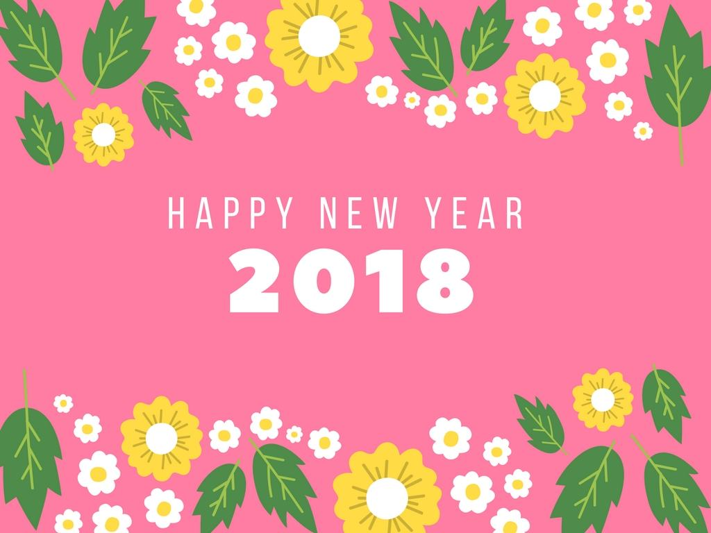 Happy New Year 2018   New Year Wishes Quotes Images 1024x768