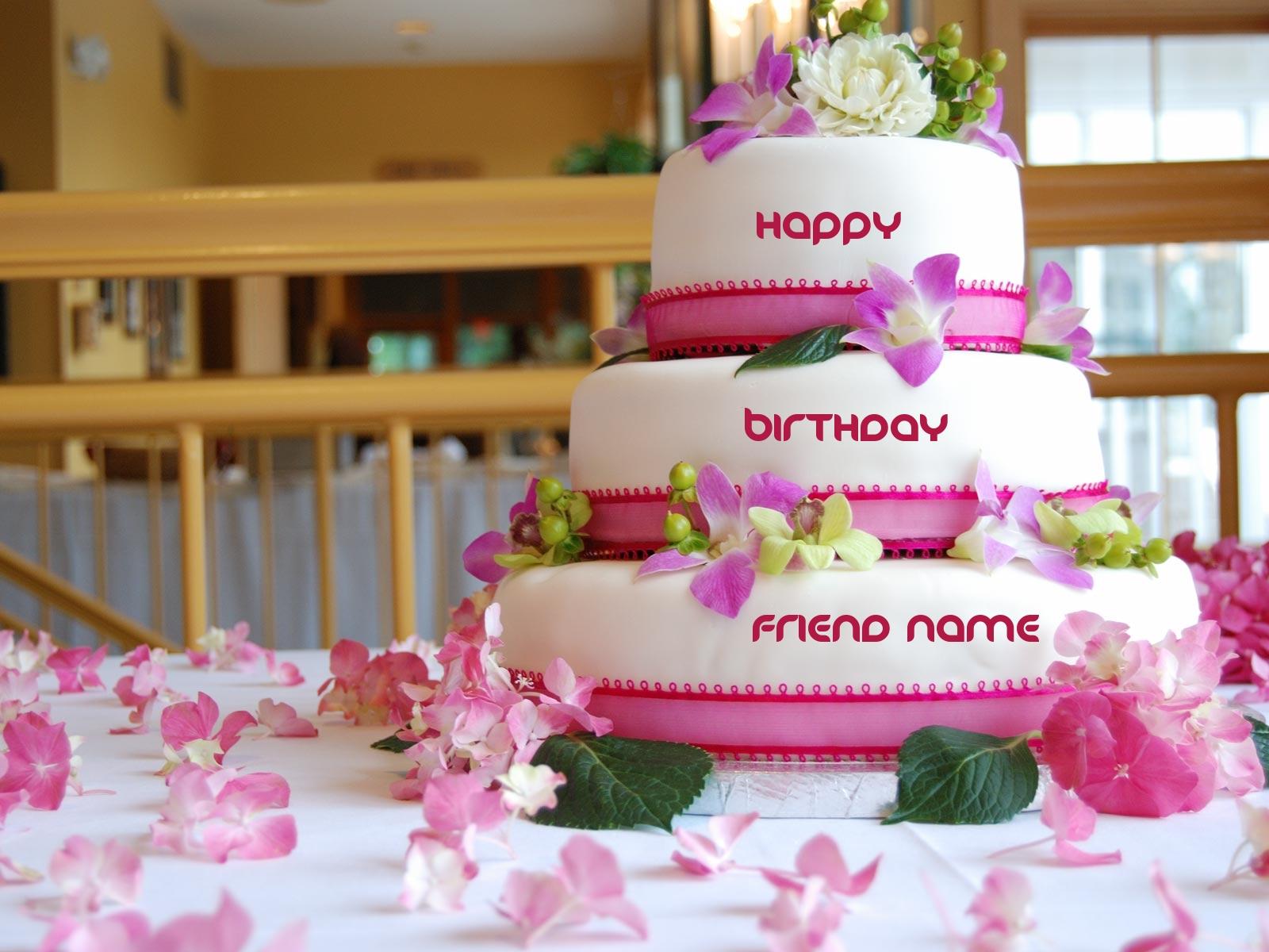 Happy Birthday Cake Name Creator Brithday Cake