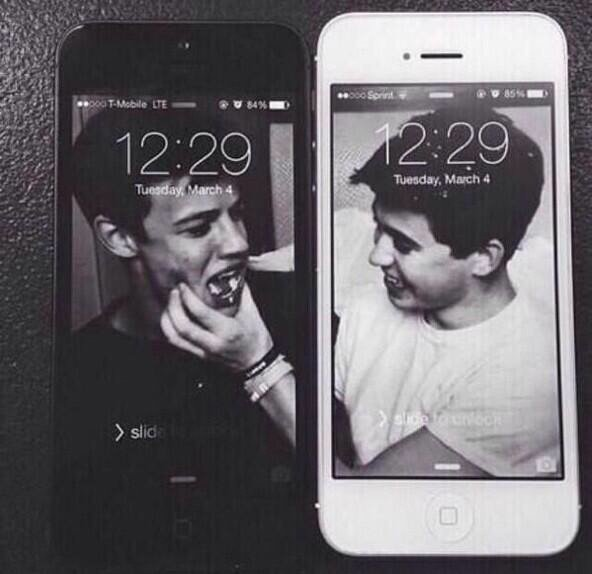 best friends cameron dallas iphone wallpaper nash grier   image 592x574