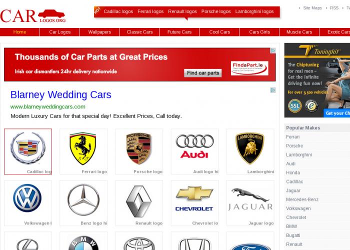 Automobile Companies Logo 700x500