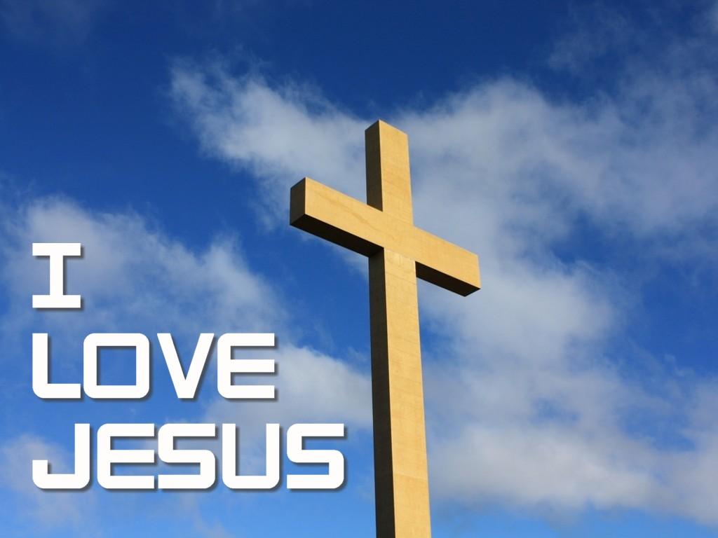 Blessings I Love Jesus Wallpaper 1024x768