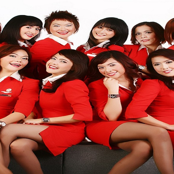 AirAsia flight attendant wallpaper 590x590jpg 590x590