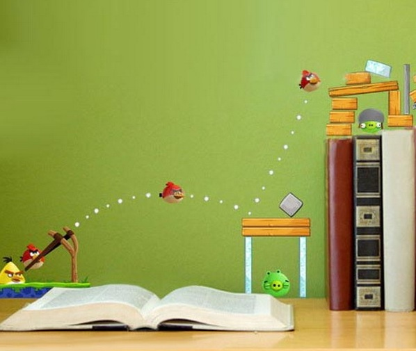 Room Decoration Green 12 Awesome Wall Murals Kids Rooms Foto Ideas 598x505