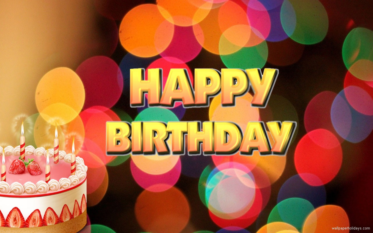 Happy Birthday wallpaper pictures and Happy Birthday wallpaper photos 1280x800