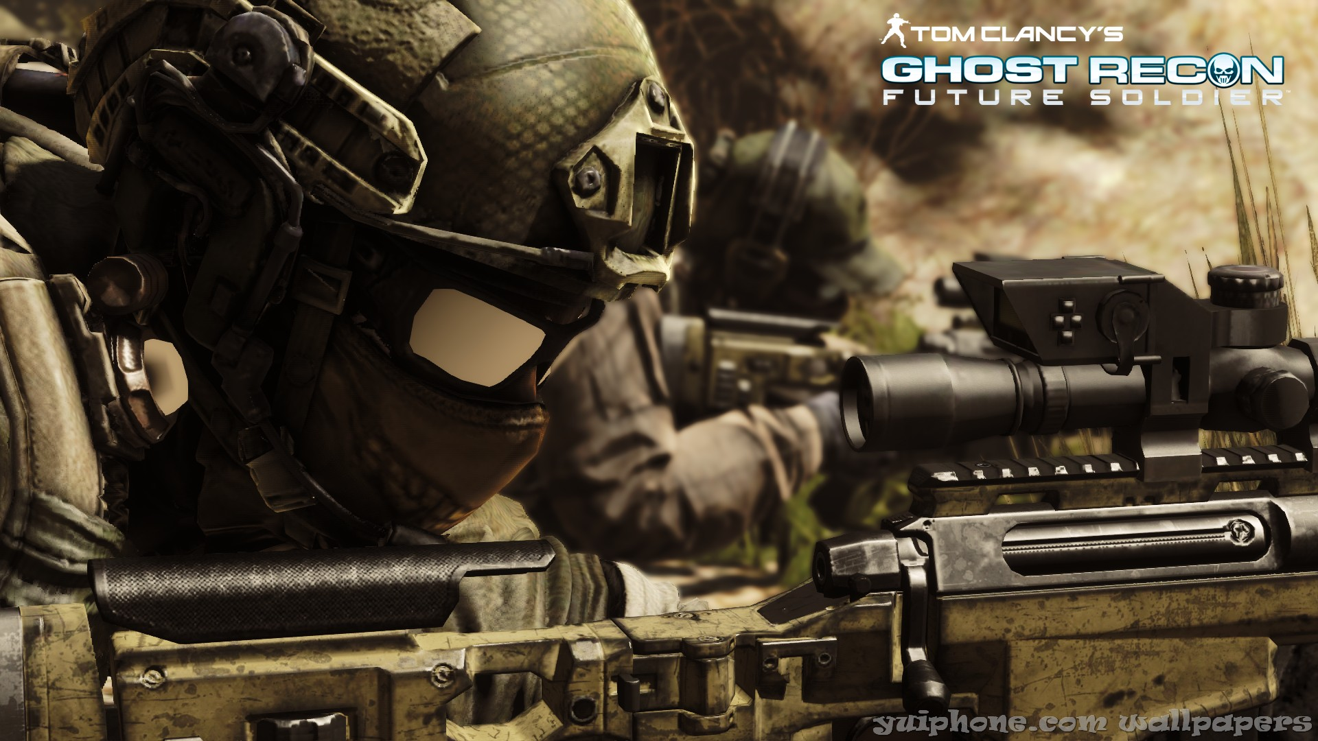 Ghost Recon Future Soldier Call Your Target HD Wallpaper Games 1920x1080