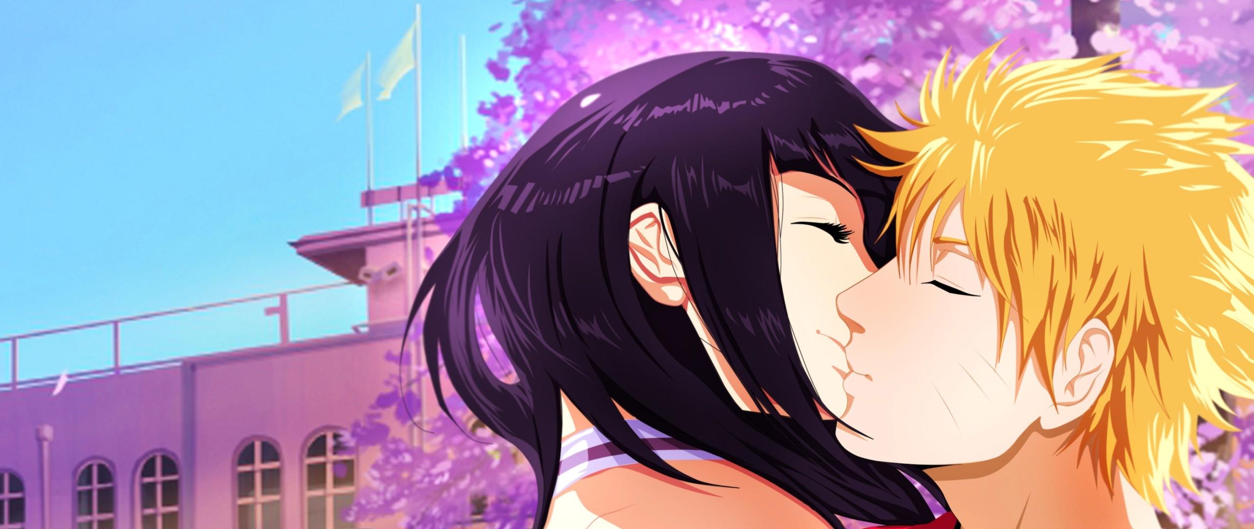 naruto kiss hinata wallpaper   wallpapersafari