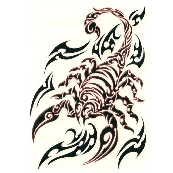 Scorpion tattoo tribal for men Like Tattoo 600x600