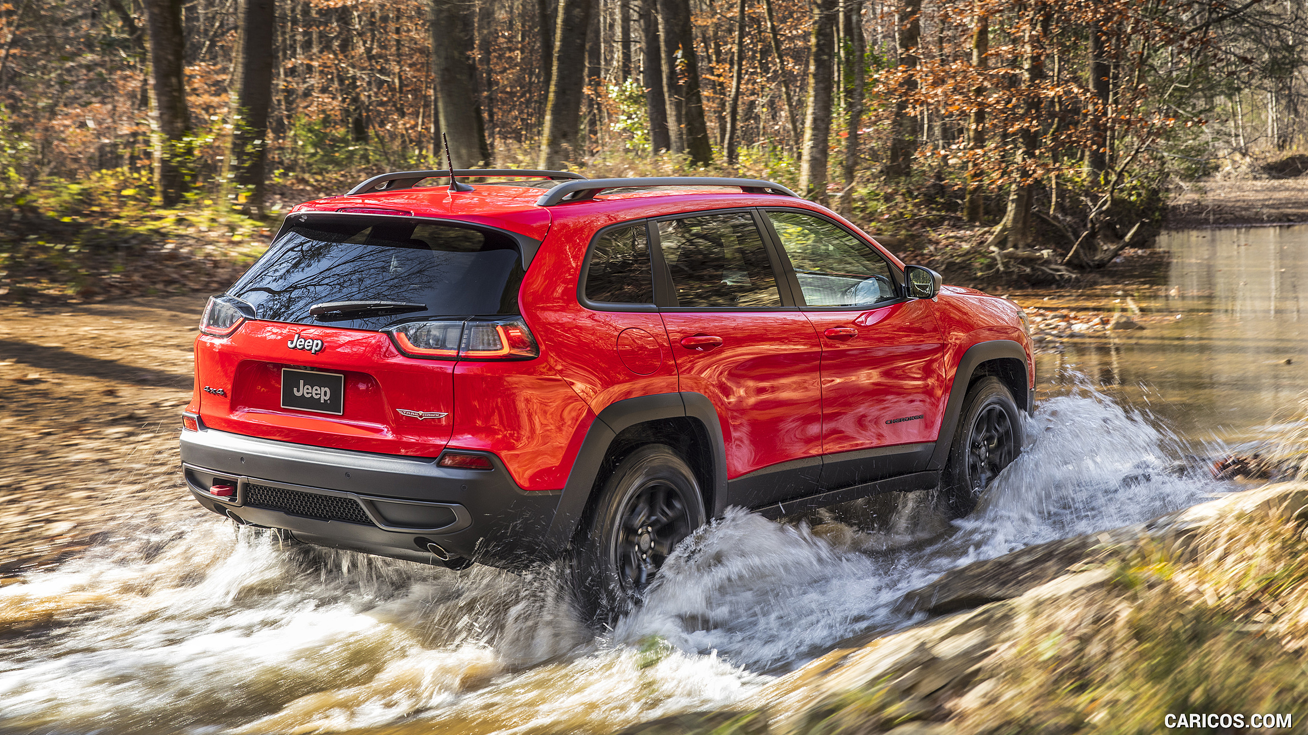 2019 Jeep Cherokee Trailhawk   Off Road HD Wallpaper 37 2560x1440