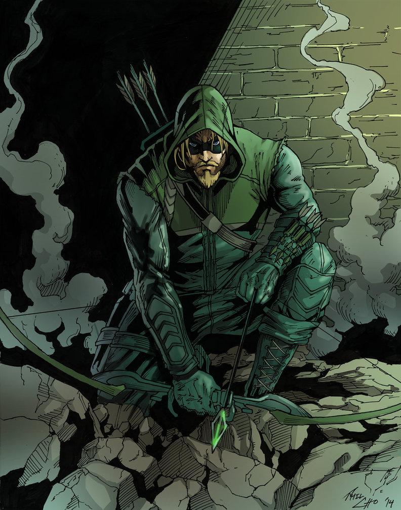 Green Arrow New 52 Wallpaper Green Arrow New 52 Wal...