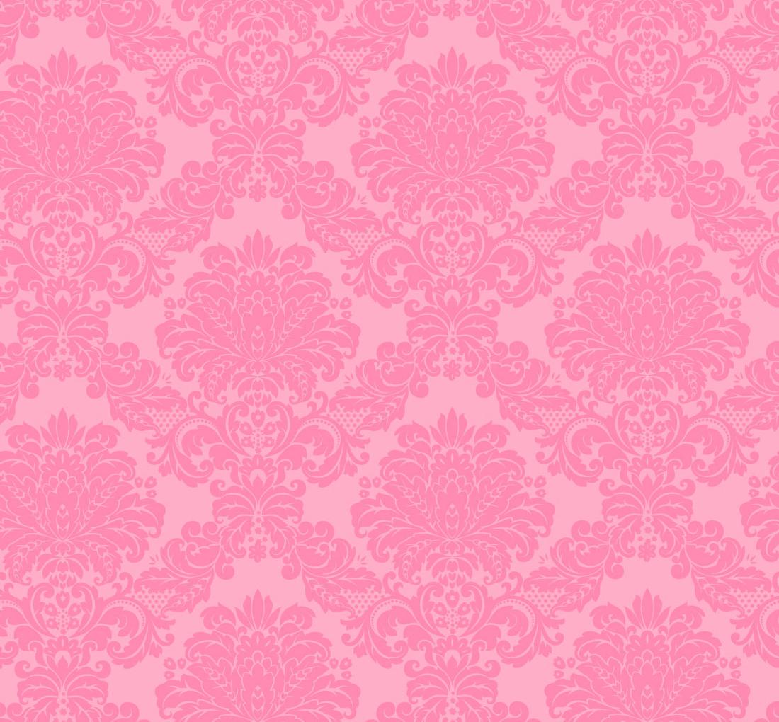 Bubblegum Pink Damask Wallpaper   Thumbnail 1 1100x1020