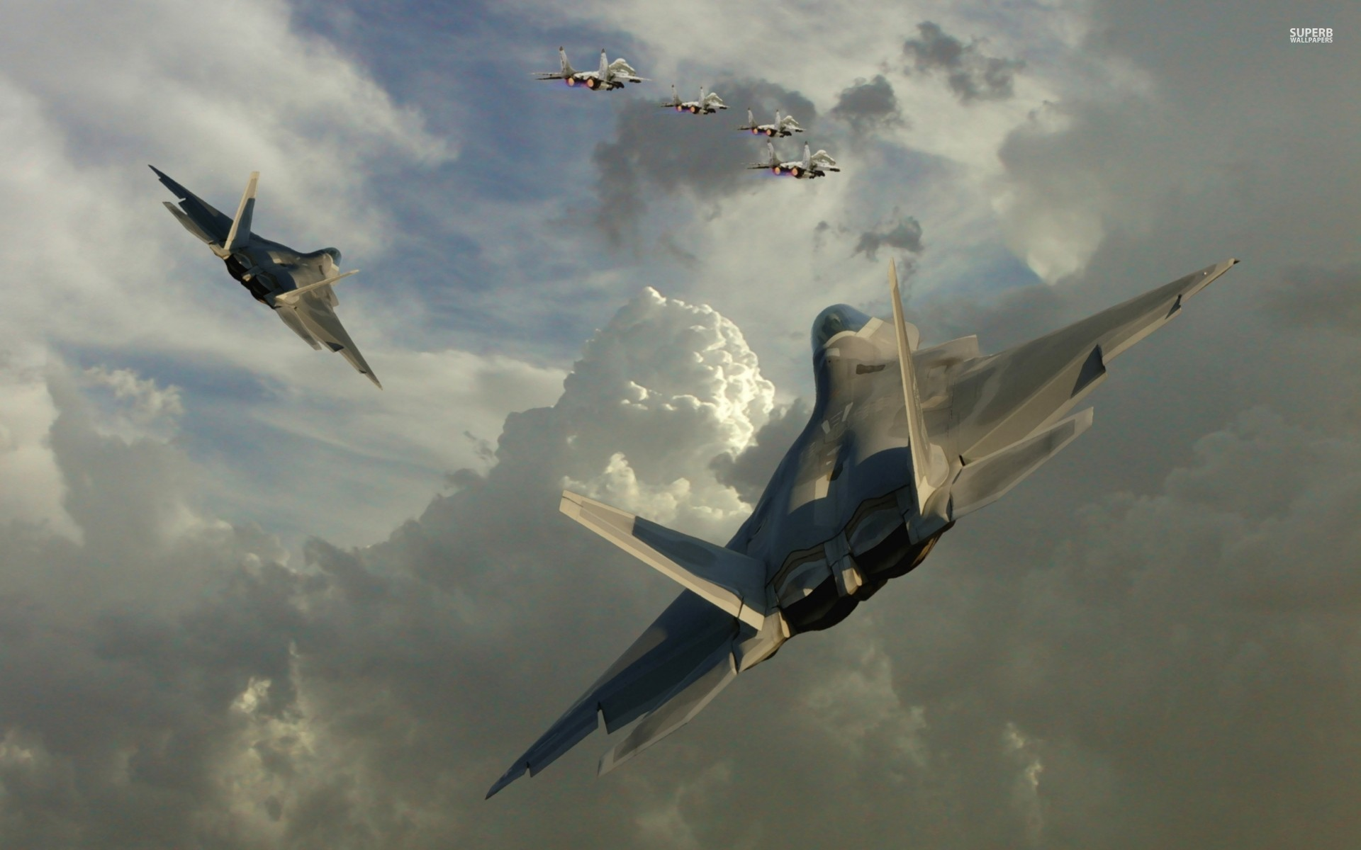 Lockheed Martin F 22 Raptor wallpaper 1920x1200 jpg 1920x1200