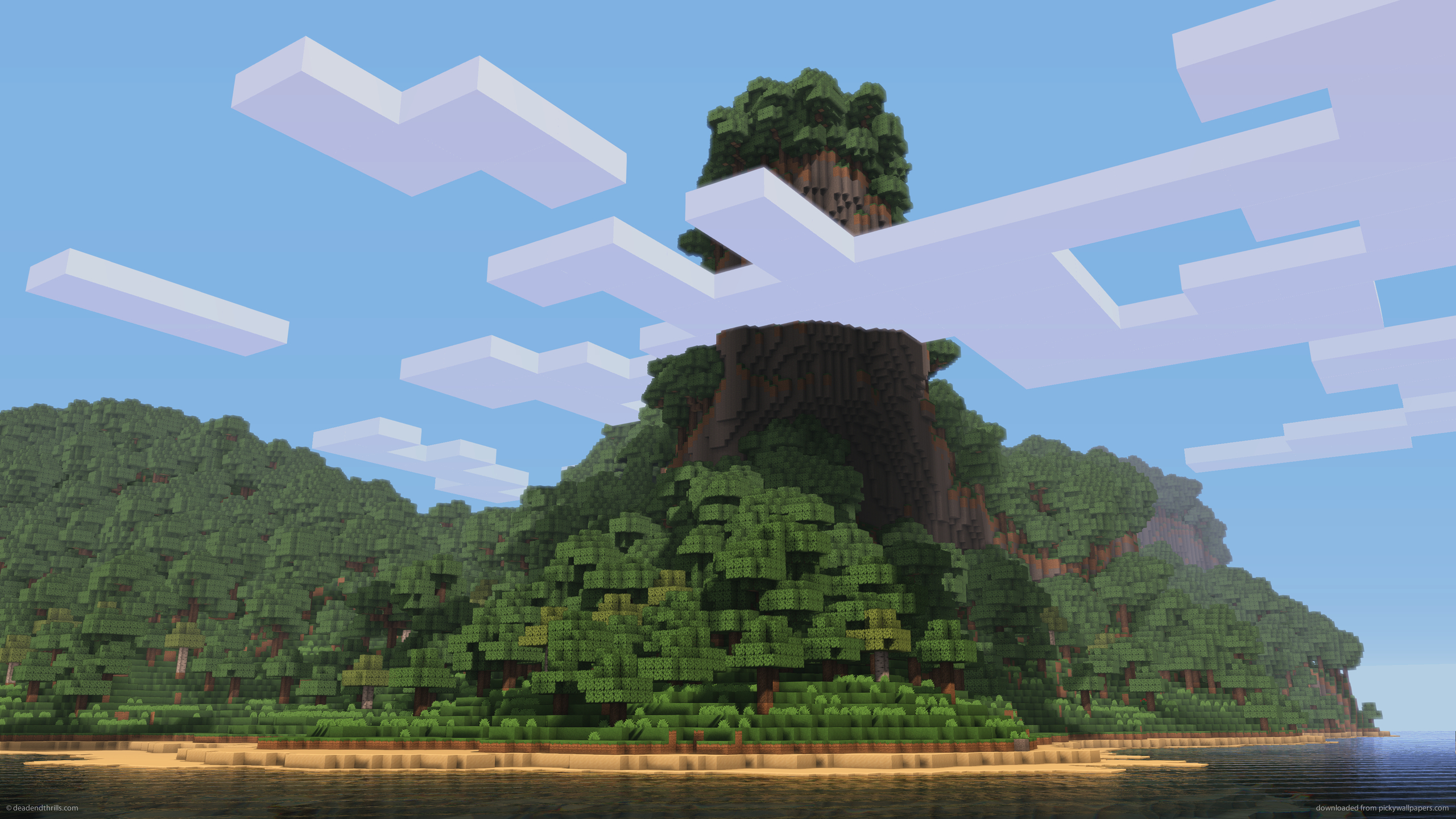 2560x1440 Minecraft Wallpaper Link to this wallpaper 2560x1440